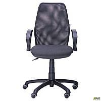 Кресло Oxi/АМФ-4 сиденье Квадро-02/спинка Сетка черная, фото 1
