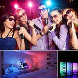 Cветодиодная LED лампочка 4W с пультом цветная + белый свет RGBW поддержка димера анимация цветов, фото 6