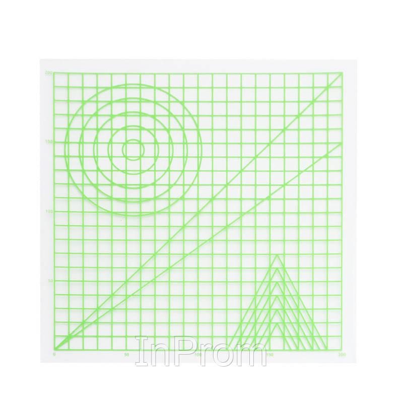 Прозрачный коврик для 3D рисования (220x220 мм)