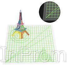 Прозрачный коврик для 3D рисования (220x220 мм), фото 2