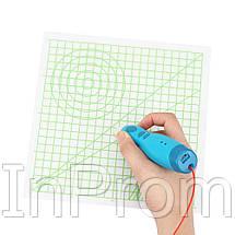 Прозрачный коврик для 3D рисования (220x220 мм), фото 3