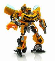 Робот детский Трансформер Бамблби и Сэм Уитвики - Bumblebee&Sam Witwicky, TF2, Human Alliance, 20CM