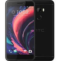 "Смартфон HTC One X10 Dual Sim Black 3/64GB + стекло, 16/8Мп, 5.5"", 4000mAh, 2sim, Helio P10, 4G, 3 мес."