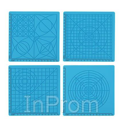 Силиконовый коврик для 3D ручек (Комплект из 4 штук), фото 2