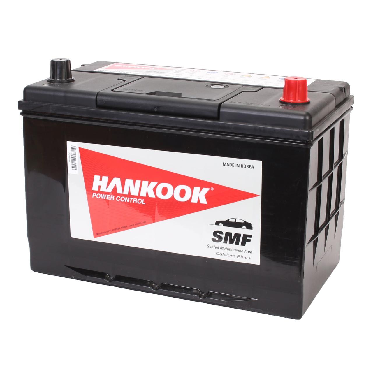 Аккумулятор автомобильный HANKOOK SMF 6CT 90Ah ASIA, пусковой ток 880А [–|+] (MF120D31FL)