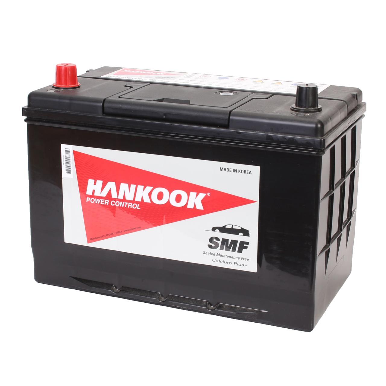 Аккумулятор автомобильный HANKOOK SMF 6CT 95Ah ASIA, пусковой ток 830А [+ –] (MF115D31FR)