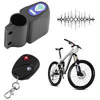 Сигнализация противоугонная для велосипеда с датчиком вибрации с пультом дистанционного управления