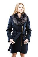 Пальто на молнии барселона(фиолет) зимнее женское. Размеры: 42-52