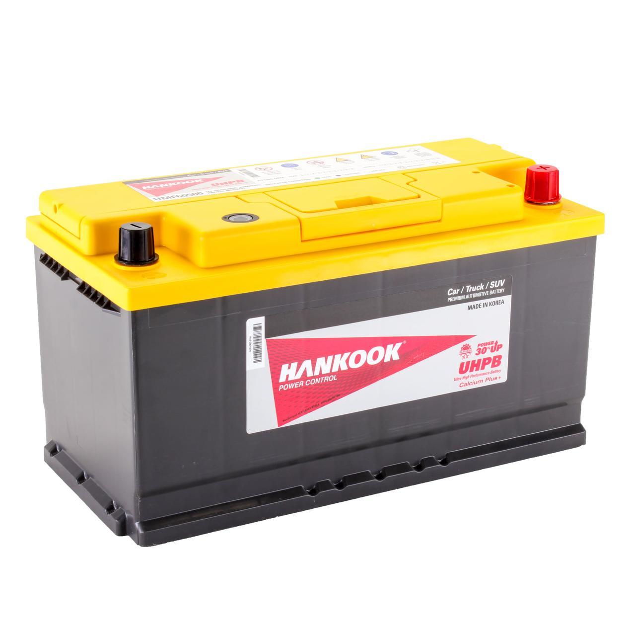 Аккумулятор автомобильный HANKOOK UMF 6CT 105Ah, пусковой ток 850А [–|+] (60500)