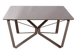 Стол журнальный LUTON S (89.5*89.5*45см) мокко глянец