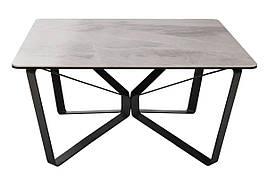 Стол журнальный LUTON S (89.5*89.5*45см) керамика светло-серый