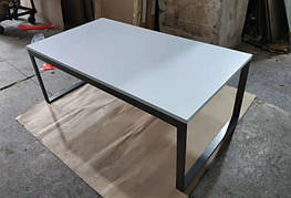 Стол журнальный BRIGHTON R (120*65*45см) MDF белый