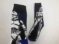 Носки Our Tanks  - высокие - Star Wars - Имперский штурмовик (синие)