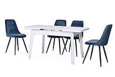 Стол обеденный ТМ-73 белый, фото 3