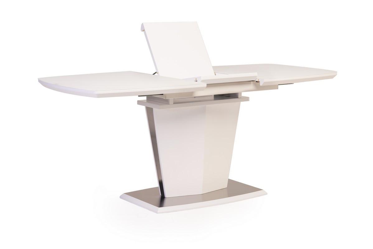 Стол обеденный TML-700 матовый белый