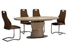 Стол обеденный TML-755 матовый капучино, фото 3
