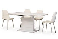 Стол обеденный TMM-50-1 матовый белый, фото 3