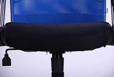 Кресло АЭРО HB Line Color сиденье Сетка чёрная,Неаполь N-20/спинка Сетка синяя, вставка Неаполь N-20, фото 3
