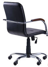 Кресло Самба-RC Хром орех Неаполь N-20 без канта, фото 2