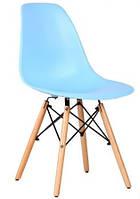 Стул Aster PL Wood Пластик Голубой