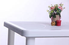 Стол Nettuno 80х80 пластик белый 01, фото 3