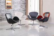 Кресло Сван ткань голубой, фото 2