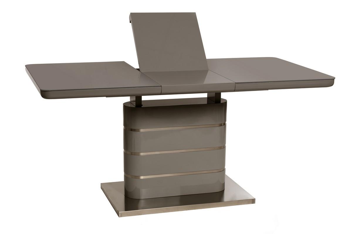 Lambert (Ламберт) стол раскладной серый 120-160 см
