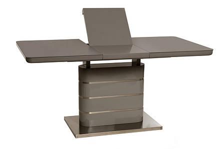 Lambert (Ламберт) стол раскладной серый 120-160 см, фото 2