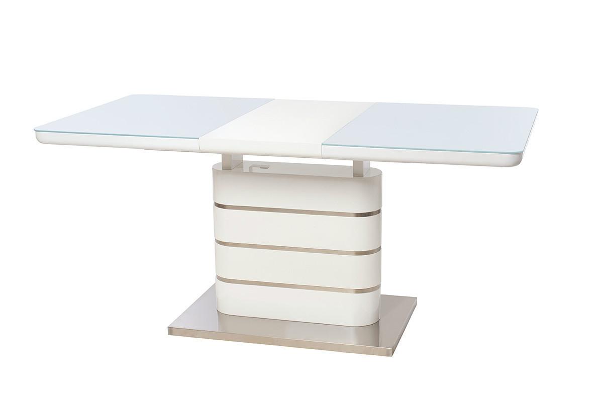 Lambert (Ламберт) стол раскладной белый 120-160 см