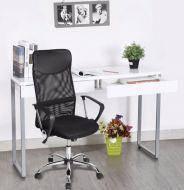 Кресло офисное Оливия D, сетка, хром, цвет черный, фото 2