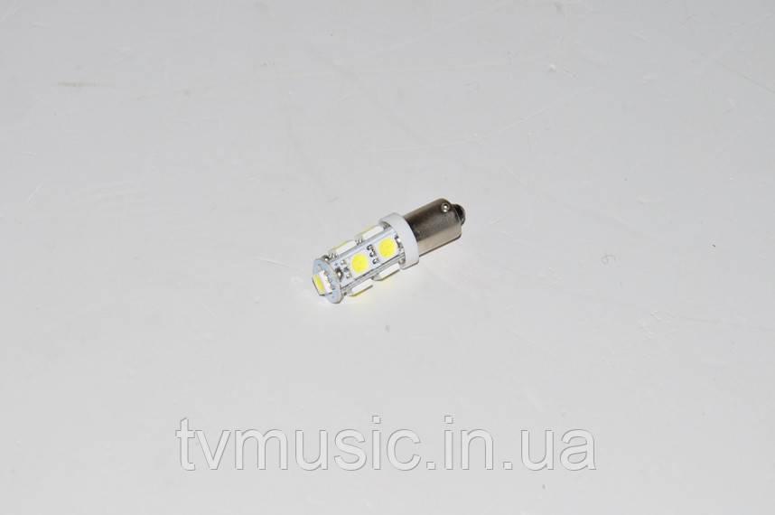 Светодиодная лампочка BA9S-5050-9SMD White