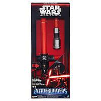 Электронный раскладной световой меч Кайло Рэна Звездные Воины Зоряні Війни - Electronic Lightsaber Kylo Ren, Star Wars, Hasbro