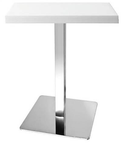 Стол Бэйлис, белый 70х70 см., фото 2