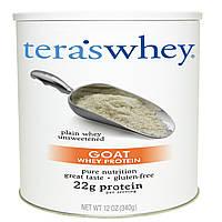 Tera's Whey, Козий сывороточный протеин, простая несладкая сыворотка, 12 унций (340 г)