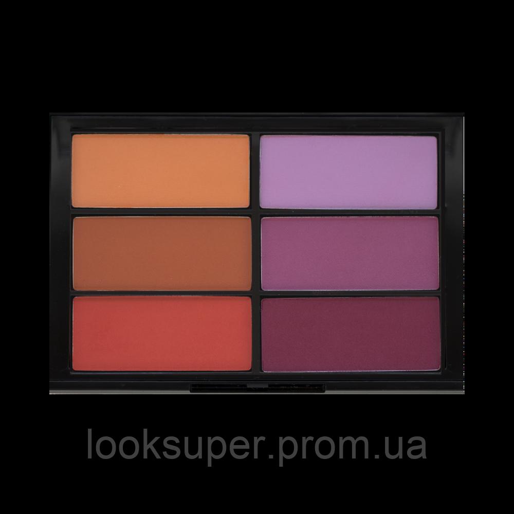 Палитра румян  VISEART 03 Blush Palette Orange/Violet
