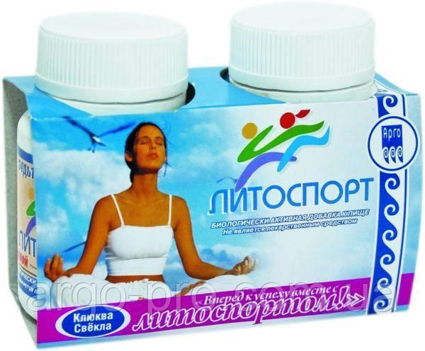Литоспорт Свекла + Клюква Арго (минералы, витамины, микроэлементы, физические нагрузки, иммунитет, память)