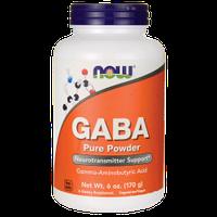 ГАМК, GABA, Now Foods, чистый порошок, 170 г,