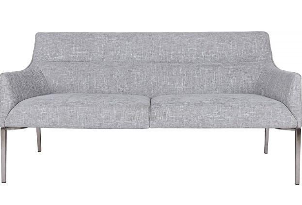 Лаунж - банкетка MERIDA (1350*600*890 текстиль) светло-серый