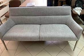 Лаунж - банкетка MERIDA (1350*600*890 текстиль) светло-серый, фото 2
