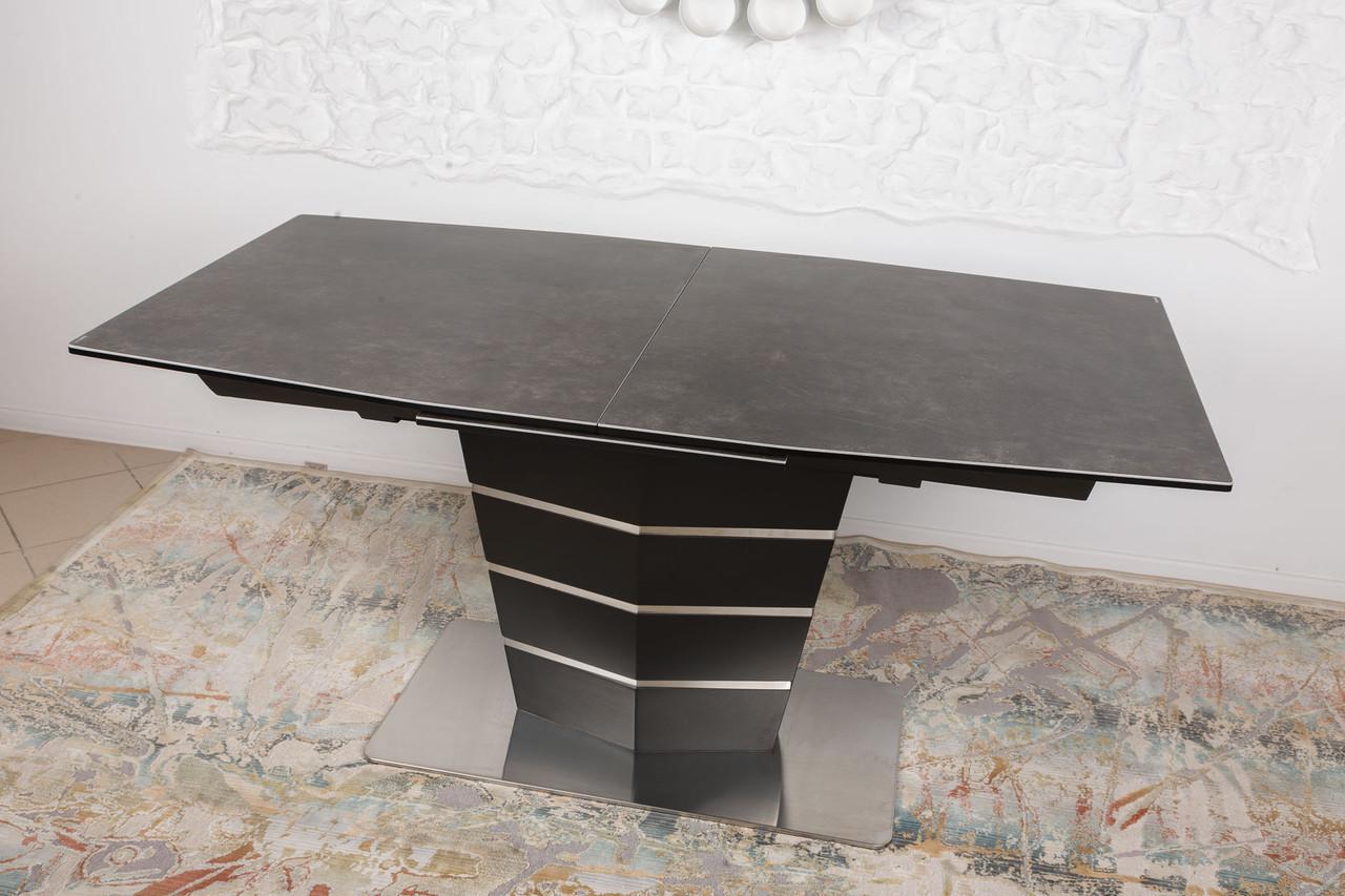 Стол обеденный BALTIMORE (160+50)*90*76) керамика коричневый