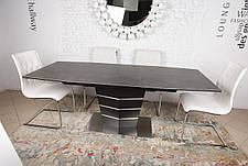 Стол обеденный BALTIMORE (160+50)*90*76) керамика коричневый, фото 2