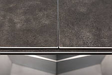 Стол обеденный BALTIMORE (160+50)*90*76) керамика коричневый, фото 3