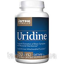 Jarrow Formulas, Уридин, 250 мг, 60 капсул