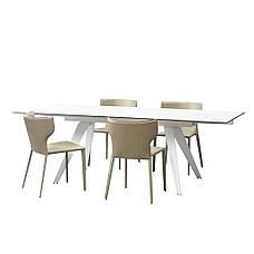 Keen Jalam White стіл прямокутний розкладний кераміка 160-240 см., фото 2