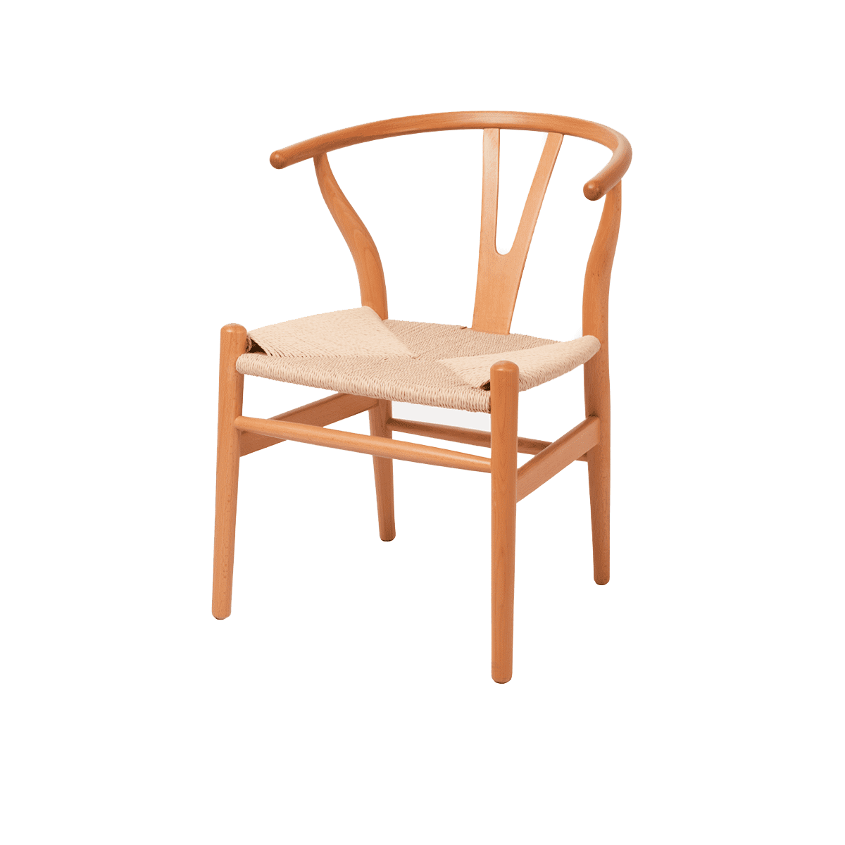 Стул  Wishbone Chair натуральный