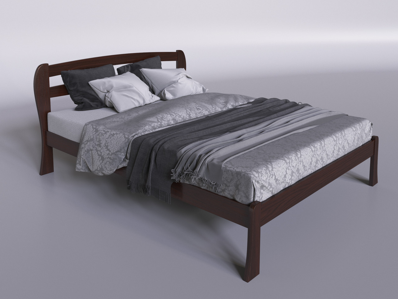 """Деревянная кровать """"Айрис"""""""