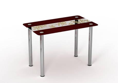 Стеклянный стол Китайский шелк, фото 2