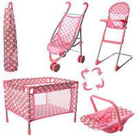 Набор кукольной мебели для пупса Baby Born (4в1) арт. 9003