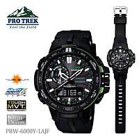 Мужские часы CASIO PRO TREK PRW-6000Y-1AER
