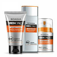 Набор мужской косметики для ухода за кожей лица BIOAQUA Men Only Set 3 in 1